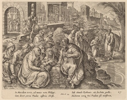 Saint Paul Speaks to the Women of Philippi by a River