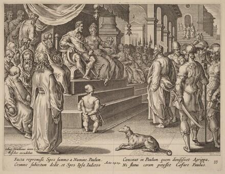 Saint Paul before Festus and Agrippa