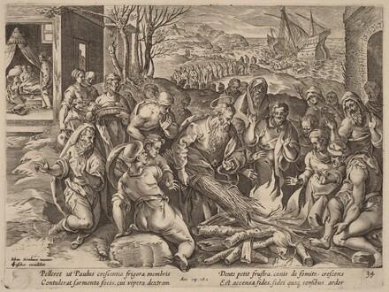 Saint Paul Shipwrecked on the Island of Melita
