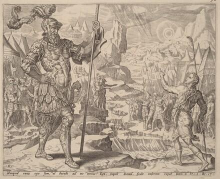 David Meeting Goliath