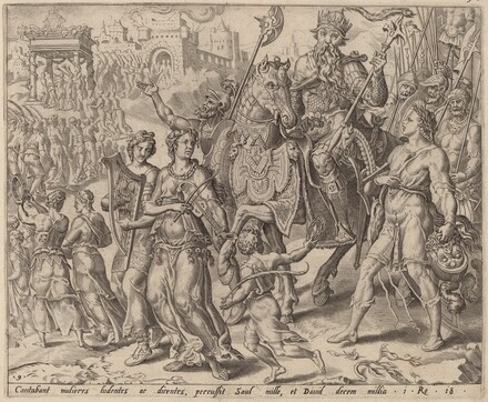 The Triumph of Saul and David