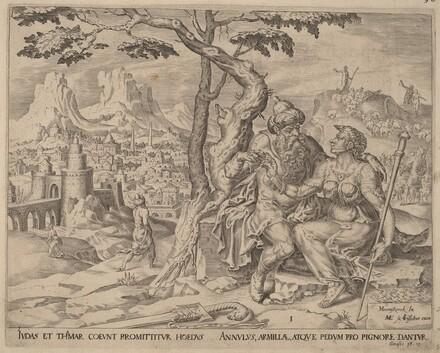 Judah  Giving Tamar the Pledge