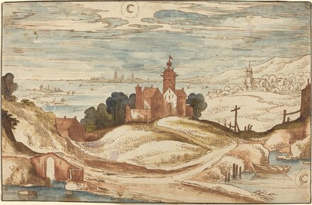 Landscape with Chateau on a Hill