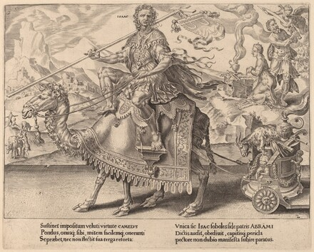The Triumph of Isaac