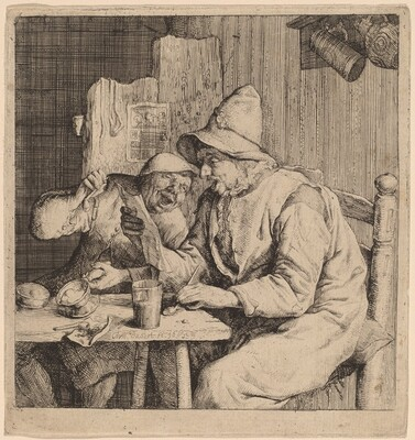 Two Peasants Singing