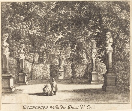 Balpoggio, Villa of Duke di Ceri