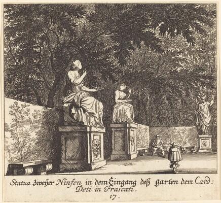 Gardens, Cardinal Deti, Frascati