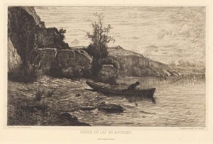 Bords du lac du Bourget