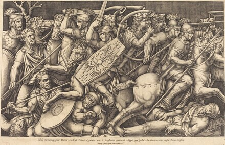 Roman Soldiers Fighting the Dacians