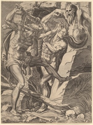 Hercules Killing Cacus