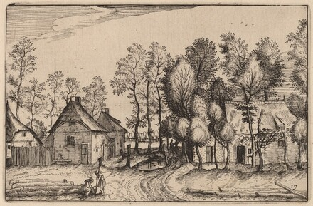 Landscape with Hewed Trees