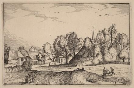 Road into a Village