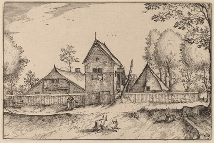 Large Walled Farm