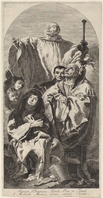 Four Saints of the Benedictine Order