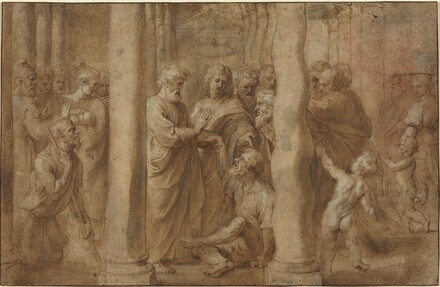 The Miracle of the Lame Man Healed by Saint Peter and Saint John