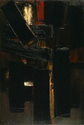 Peinture 130 x 89 cm, 6 mars 1955
