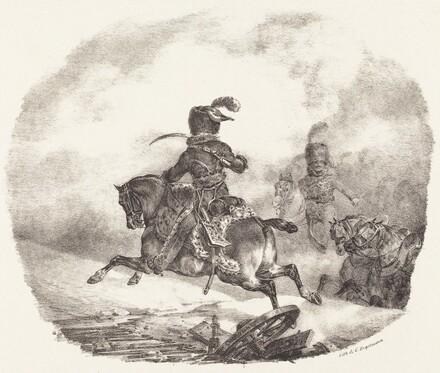 Light Artillery Officer of the  Imperial Guard (Officier d'artillerie legerie de la  garde imperiale)