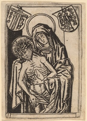 The Virgin Supporting the Body of Christ