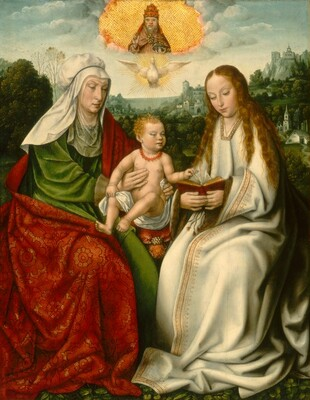 Saint Anne with the Virgin and the Christ Child