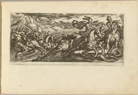 Cavalry Engagement