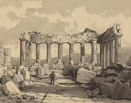 Parthenon, Inside