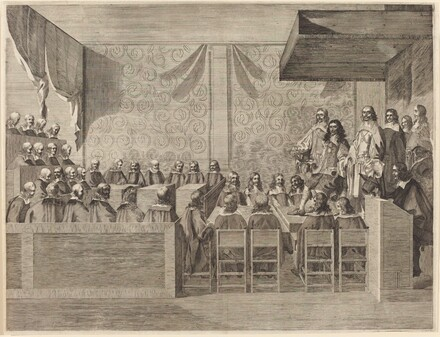 Charles II with His Council