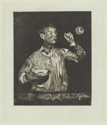 The Boy with Soap Bubbles (L'enfant aux bulles de savon)