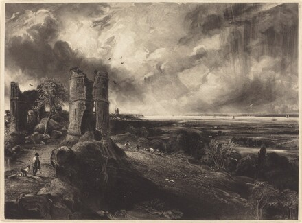 Hadleigh Castle (Large Plate)