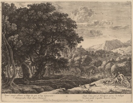 Venus and Adonis Hunting