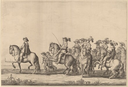 Entry of Marie de Medici into Amsterdam [plate 2 of 6]