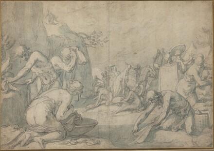 Ritual Washing of the Israelites