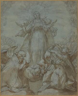 The Virgin in Glory