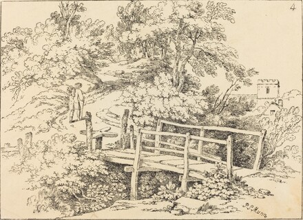 Country Footbridge (The Traveller)