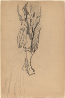 Partial Sketch of a Boy in Knickers