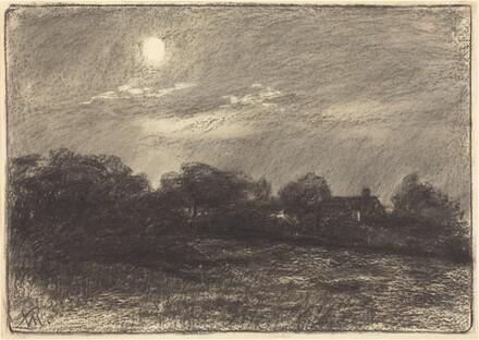 Evening, Farm Landscape