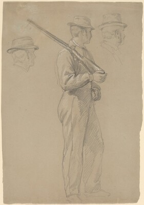 Recruit; Two Studies of Heads
