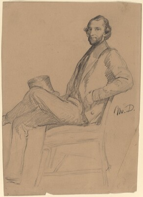 Seated Study of M.D.