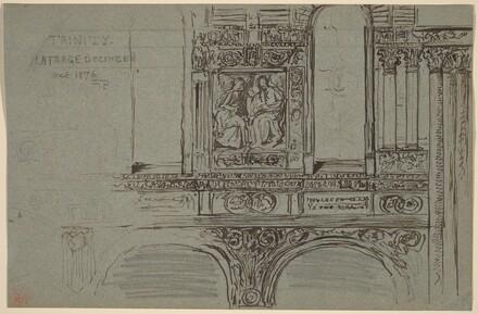 Trinity Church, Boston (nave) - Mural Study