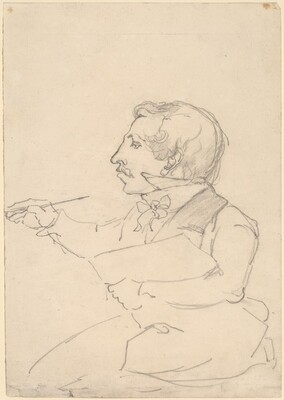 Eastman Johnson Sketching