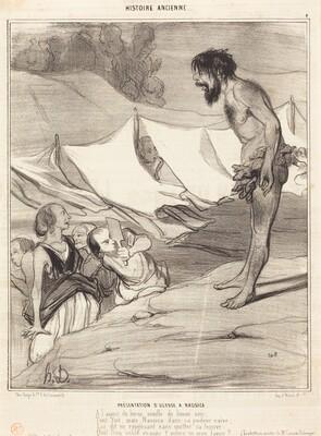 Présentation d'Ulysse a Nausica