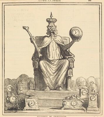 Successeur de Charlemagne
