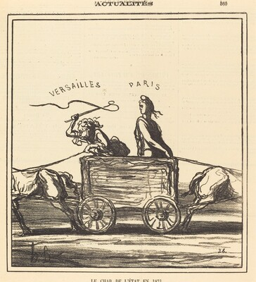 Le char de l'état en 1871