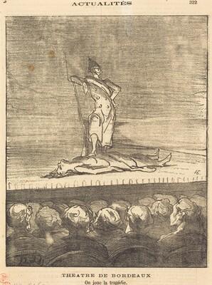 Théâtre de Bordeaux - on joue la tragédie