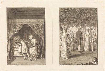 Illustrations to La Fontaine