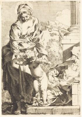The Christ Child Trampling on Sin