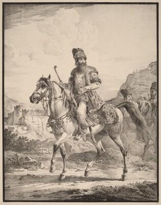 A Persian on Horseback