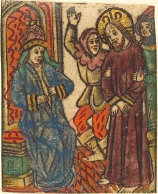 Christ before Caiaphas