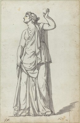 Roman Statue of a Muse (Anchyrrhoe)