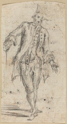 A Gentleman with a Walking Stick