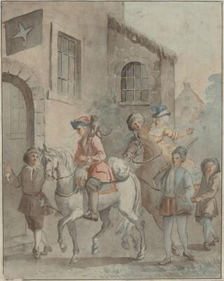 Arrival at an Inn